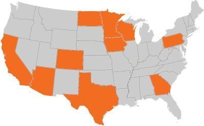States We Are Licensed In