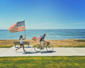 Bike Riding Safety This Flag Day